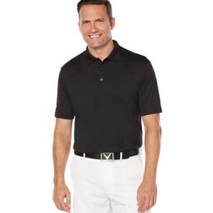 Callaway Men's Solid Stretch Opti Dry Polo Large